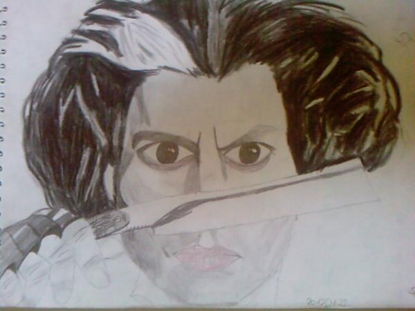 Johnny Depp by Vanus94